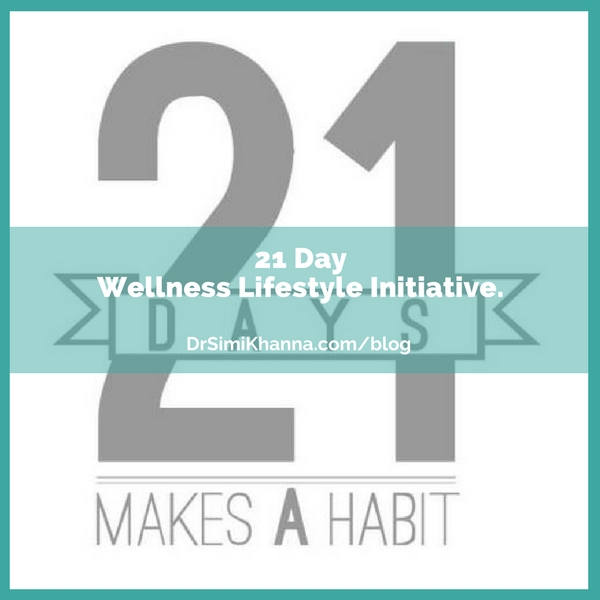 21 Day Wellness Lifestyle Initiative.