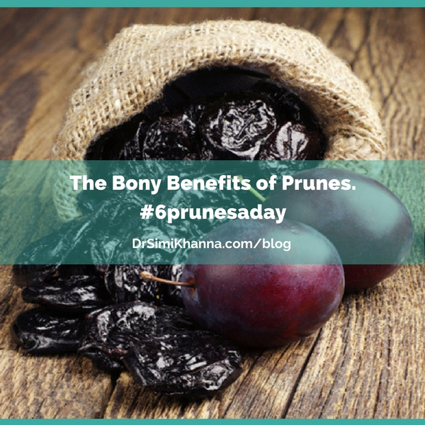 The Bony Benefits of Prunes.