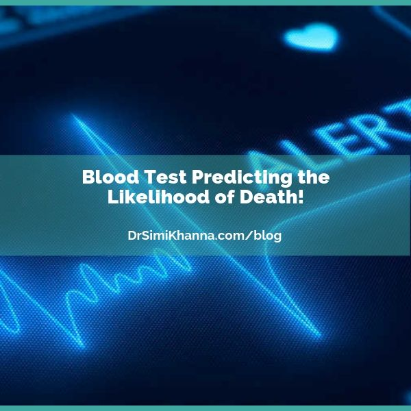 Blood Test Predicting the Likelihood of Death